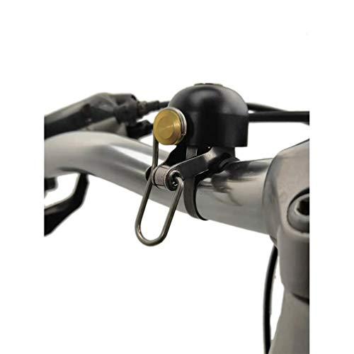 WANDERVOGEL Fahrradklingel Klingel Glocke Bike Bell Ring Retro Style (Schwarz)