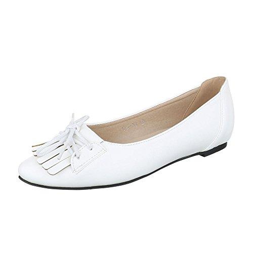 Ital-Design, Ballerine donna Bianco