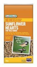 Gardman Sunflower Hearts - 2kg
