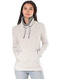 Lakeville Mountain Damen Sewatshirt SWTR   Weich gefüttertes Sweatshirt mit  hohem Kragen cb1ca57095