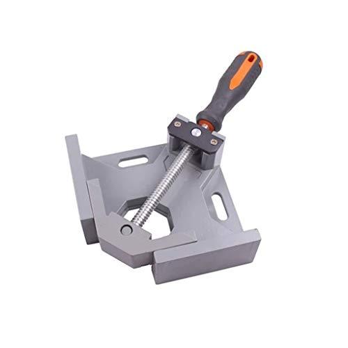 90° Winkel Klemme Einstellbare Schraubstock Eckklemmen Werkzeuge für Zimmermannsarbeiten, Holzarbeiten, Ingenieurarbeiten, Schweißen, Tischler, Fotorahmen
