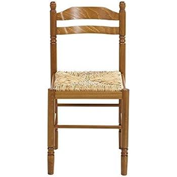 Votre Specialiste 73 1 Chaise De Cuisine En Bois Assise Paille