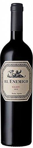 Tinto Argentino El Enemigo Malbec 2013 - Aleanna - Denominación De Origen Mendoza, Argentina - Botella 75 Cl