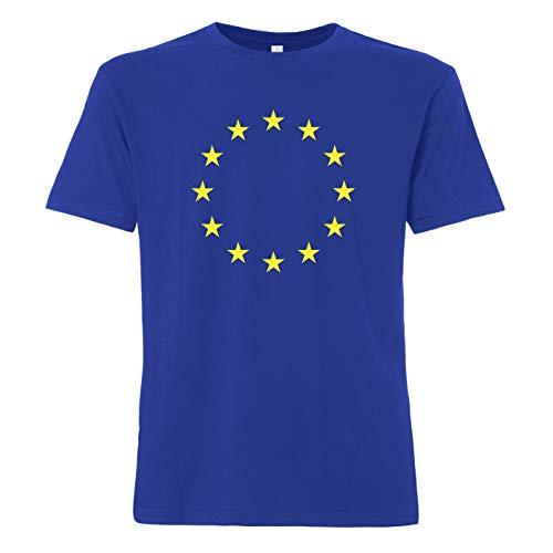 ShirtWorld - Europa - Herren T-Shirt Blau XL