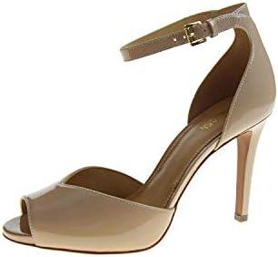 MICHAEL KORS Zapatos Mujer Sandalias con tacón 40S9CBHA1A Cambria Sandalia Talla 35 Polvo