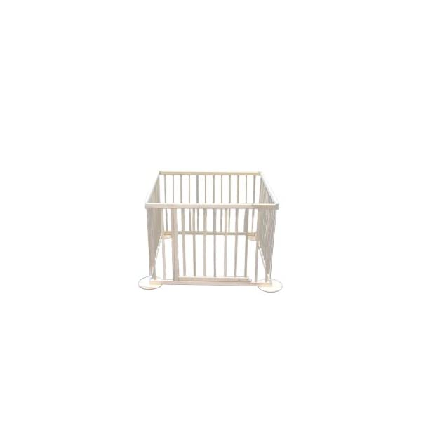 Safety gate GIANT up to 340 cm Bambino World Secure dangerous places in the house e.g. an open fire-place or arrange a safe playground with a square playpen. MAIN FEATURES: Fixation: using screws Opening system: Eye bolt Material: High quality rubberwood Color: Natural Height: 70cm Distance between bars:  2