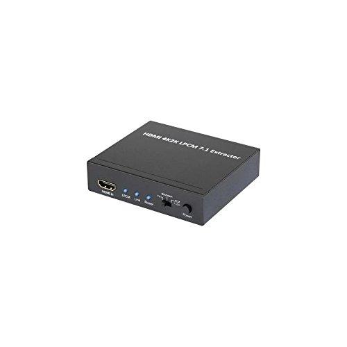 Speaka Professional Audio Extraktor SP-AE-H/8K [HDMI - HDMI, Toslink, Klinke] 3840 x 2160 Pixel