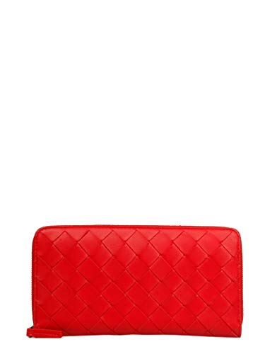 Bottega Veneta Luxury Fashion Damen 577775VO0BH8928 Rot Brieftaschen | Herbst Winter 19 -