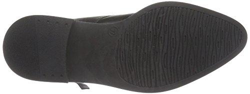 Bianco Warm Polido Boot Jja16, Bottes courtes avec doublure chaude femme Noir - Schwarz (Black/10)