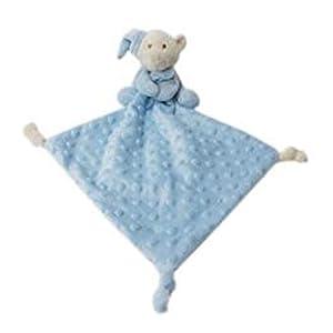 Duffi Baby- Dou Osito Topitos, 24 x 24 cm, Color Azul (Master Baby Home, S.L. 4106-12)