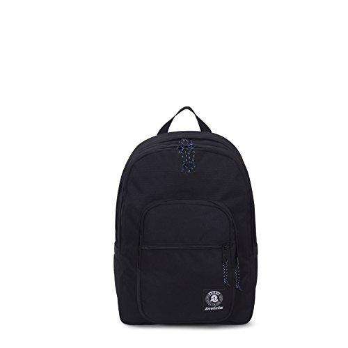Zaino invicta - jelek - nero - tasca porta pc padded - 38 lt -