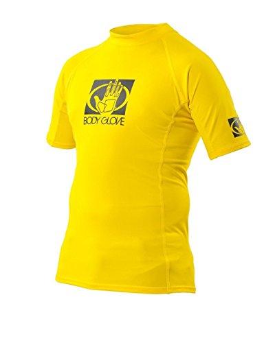 Body Glove Junior / Kinder Kurzärmelig Taucheranzug Rash Weste UVP 50 - Gelb, 164 -