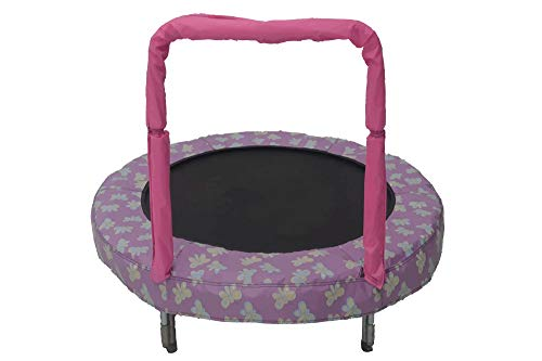 trampoline Mini BouncerButterfly 121 cm pink Best Price and Cheapest