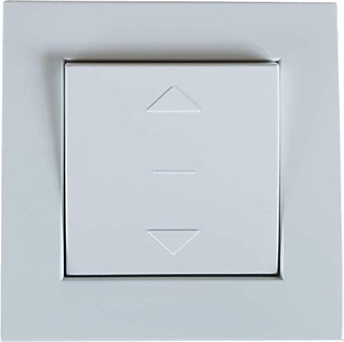 h Schalter für Rollläden und Jalousien Auf/Ab-Taste, Unterputz, 230 V/AC (1 ST) -