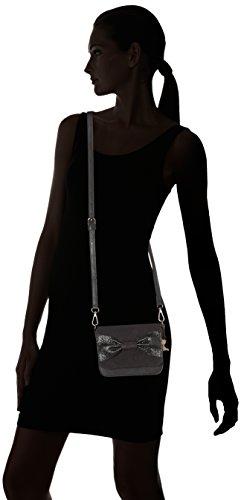 Lollipops - Boukat Mini Side, Borse a spalla Donna Nero (Black)