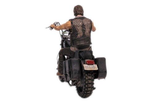 McFarlane Walking Dead TV Daryl Dixon con Chopper Figura de acción Box Set 3