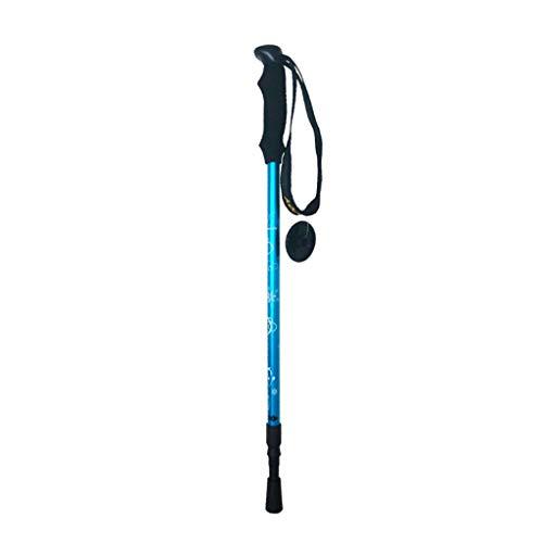 WangYi Trekkingstange- Trekkingstöcke für Kinder, Skistöcke, Wanderstöcke, 2 Wandern, Spazierstöcke, Reiseausrüstung (Farbe : Blau, größe : 55-90cm) - Größe Kind Spazierstock,
