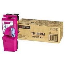 Preisvergleich Produktbild Kyocera 1T02HPBEU0 TK-820M Tonerkartusche 7.000 Seiten, magenta