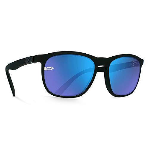 gloryfy unbreakable eyewear Gi13 Soho Sun Black matt Sonnenbrille, Schwarz, One Size