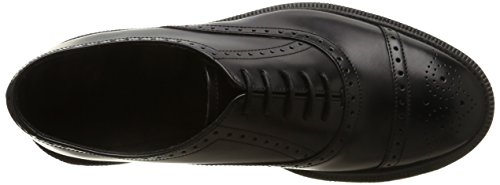 Dr. Martens MORRIS Polished Smooth BLACK, Brogues homme Nero (Nero)