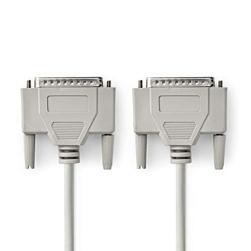 Nedis Kabel RS232 D-SUB 25 Pin männlich - D-SUB 25 Pi -