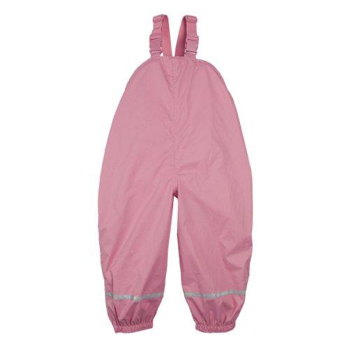 BORNINO Regenhose Baby-Regenhose Regenbekleidung, Größe 74/80, rosa