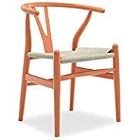 Attraktiv Sessel Stuhl Replik CH24 Y Chair Wishbone Hans Wegner Designer Vetrostyle  Hellbraun