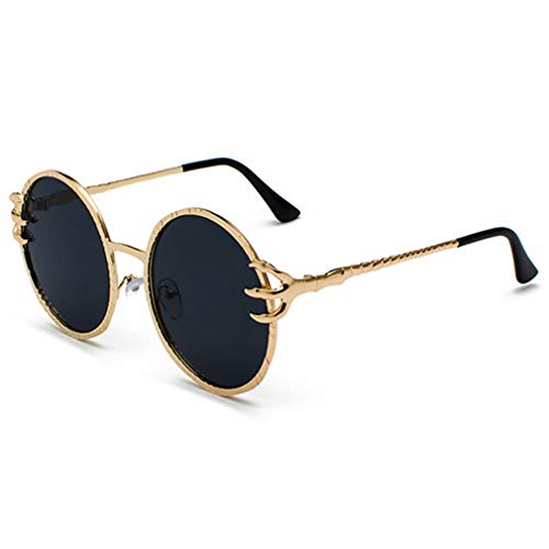 Fauhsto Sunglasses Women Men Round Vintage sunglasses Luxury Sun glasses for Driving Travel Holiday Shopping Outdoor UV Protection Goggles Eyewear