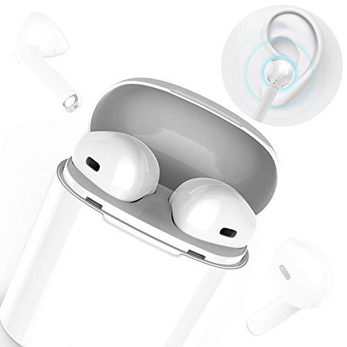 Auriculares Bluetooth, Auriculares Inalámbricos Auriculares Bluetooth 4.1 InEar Auriculares Auriculares Estéreo In-Ear Micrófono Manos Libres Incorporado para Apple Airpods Android/iPhone (precio: 39,99€)