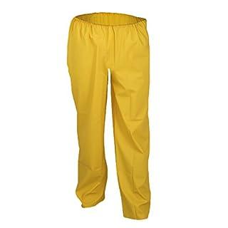 Asatex PULC S 500 PU Stretch Rain Trousers, Yellow, Small