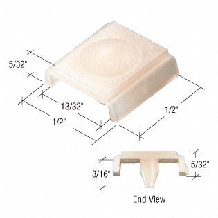 Sliding Window Guide (Sliding Window Guide for Radco Windows, 1/2 Wide, Plastic by C.R. Laurence)