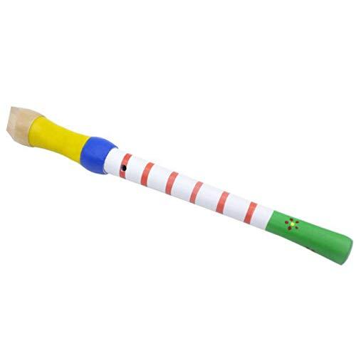 CUHAWUDBA 8 Loch FL?Te Klarinette Piccolo Trompete Trompete Spielzeug Holz FrüH Kindliche Erziehung Spielzeug Musikalische Bildung Musik Instrument Wei?
