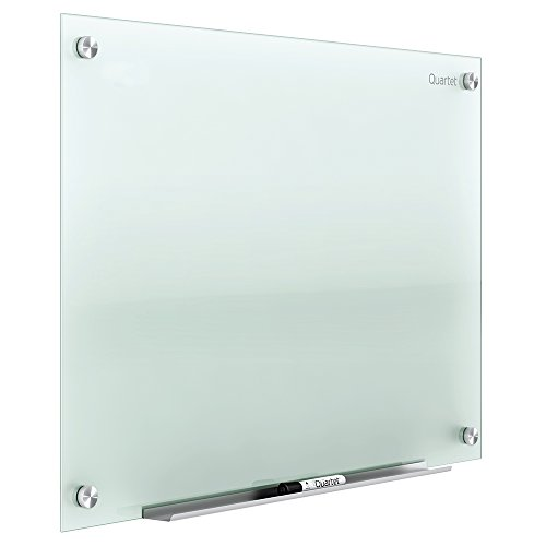 Quartet Infinity Glas Marker Board, 2 x 1.5 Frosted - Non-Magnetic