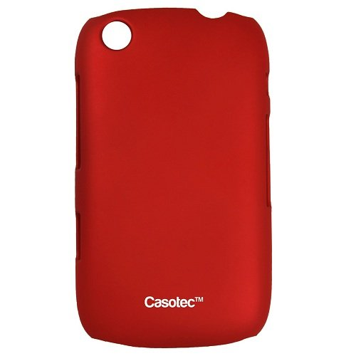 Casotec Ultra Slim Hard Shell Back Case Cover for BlackBerry Curve 9220 - Maroon Red  available at amazon for Rs.125