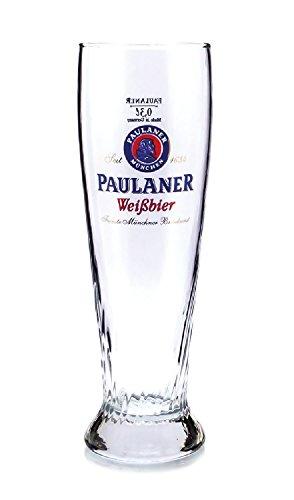 paulaner-03l-glasses-branded-glass-beautiful-lake-beer-glass
