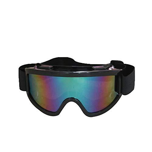 HEXUAN Schutzbrille, Winddichte Sand - und Staubfahrt, stoßfeste Outdoor -Skischutzbrille, industrielle Polierung Schutzbrille,Brillengläser mit schwarzem Rahmen
