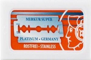 10 Merkur Super Platinum Rasierklingen (1 paket)