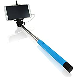 AAB Selfie Stick 2 blu treppiedi telescopico Monopod per smartphone Android su iOS