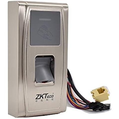 Ciecoo IP65 impermeable al aire libre MA300 tarjeta de identificación de huella digital de control de acceso y asistencia en el tiempo de comunicación con TCP / IP Wiegand Control de acceso