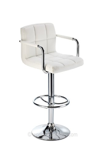 Pacific Bar Stool White