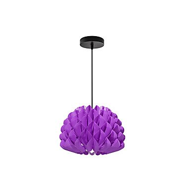 LAF E27 diy kit chandelier pp suspension pendentif suspension chandelier lumière câble et lampe , purple