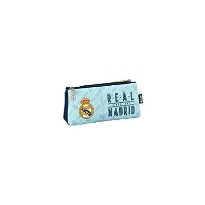Safta Neceser Real Madrid Corporativa Oficial Cremallera Simple 220x80x100mm