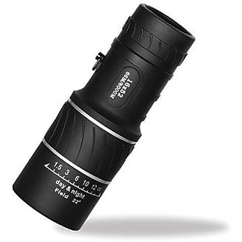 TT&FF 16X 52 mm Monocular Impermeable / Antiempañamiento / Genérico / Maletín / Prisma de azotea / Alta Definición / Visión nocturna 66m/8000m ,