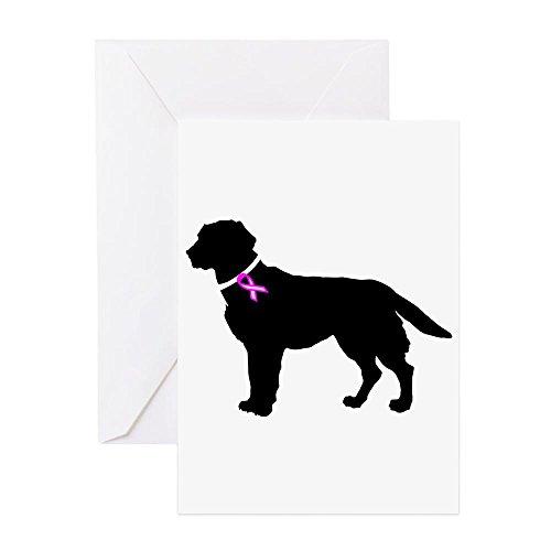 CafePress–Labrador Retriever Brust können–Grußkarte, Note Karte, Geburtstagskarte, innen blanko, glänzend