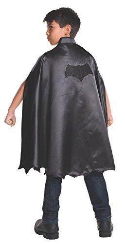 Lizenzierte Batman Kinder Kostüm - Rubie's Batman-Umhang/Kinderkostüm, Schwarz, offizielles