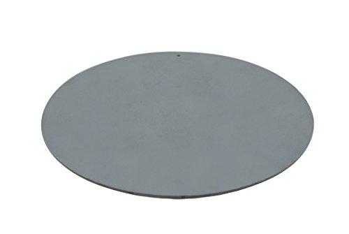 Pizzacraft Backblech, rund, 35,56 cm Durchmesser, Stahlblech, schwarz, 1.4x35.99x35.99 cm, PC0307