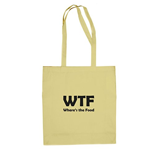 Where's the Food - Stofftasche / Beutel Natur