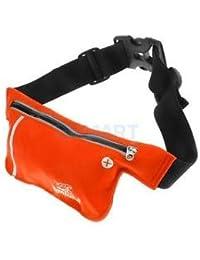 Alcoa Prime Unisex Ultrathin Outdoor Running Waist Bag Sports Pockets Bag Orange