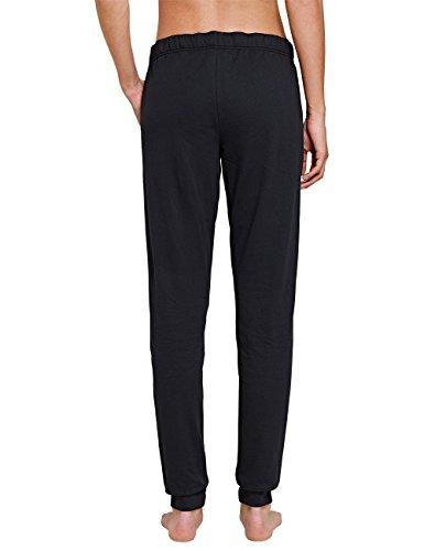 Uncover by Schiesser Sweat Pants, Bas de Pyjama Femme Gris - Grau (graphit 207)