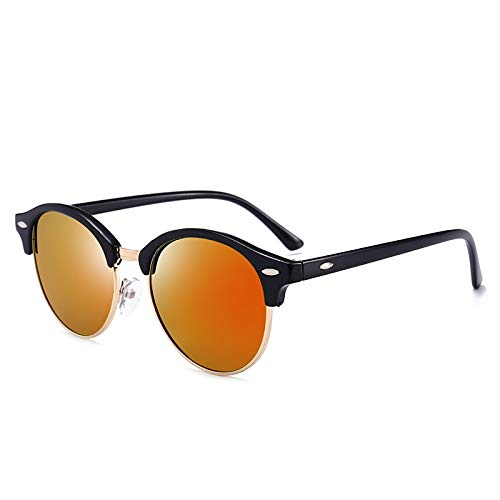 XIAOXINGXING Brand Herrenmode Driving Sonnenbrillen, Shopping Herren Sonnenbrillen, New Polarized Herren Sonnenbrillen UV400 (Lenses Color : 4246Orange)